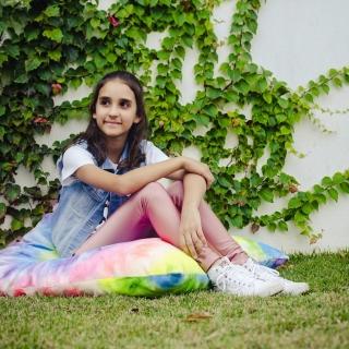 Calça Legging Infantil Brilhante Rose