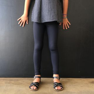 Calça Legging Infantil Preta