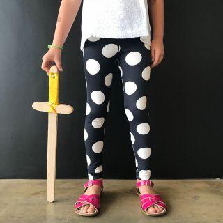 Calça Legging Infantil Estampada Bola