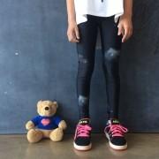 Calça Legging Infantil Estampada Cosmos