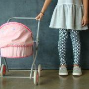 Calça Legging Infantil Estampada Escama