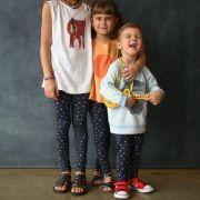 Calça Legging Infantil Estampada Pequeno Cidadão
