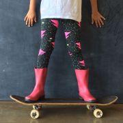 Calça Legging Infantil Estampada Raio