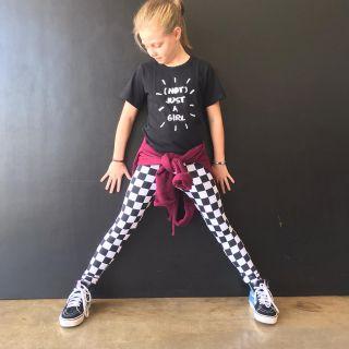 Calça Legging Infantil Estampada Skate