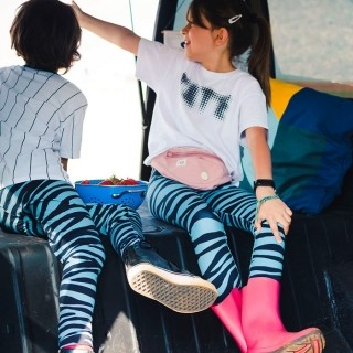 Calça Legging Infantil Estampada Zebra