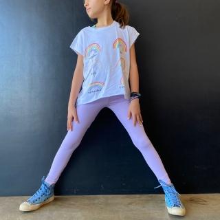 Calça Legging Infantil Lilás