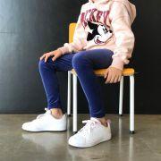 Calça Legging Infantil Veludo Azul