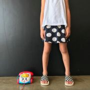 Short Saia Estampado Bola
