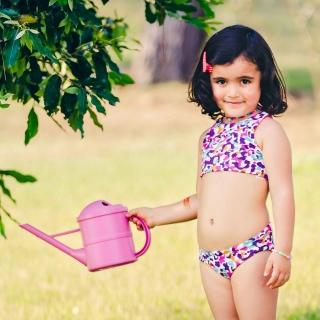 Sunquini Infantil Dupla Face Estampado Onça color
