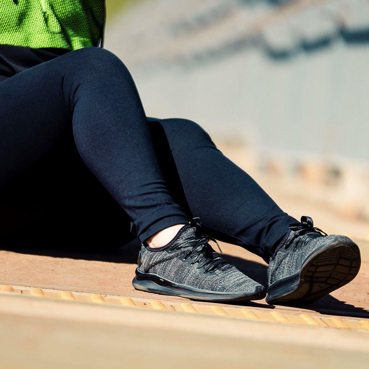 Calça Legging Adulto Básica Preta Emana
