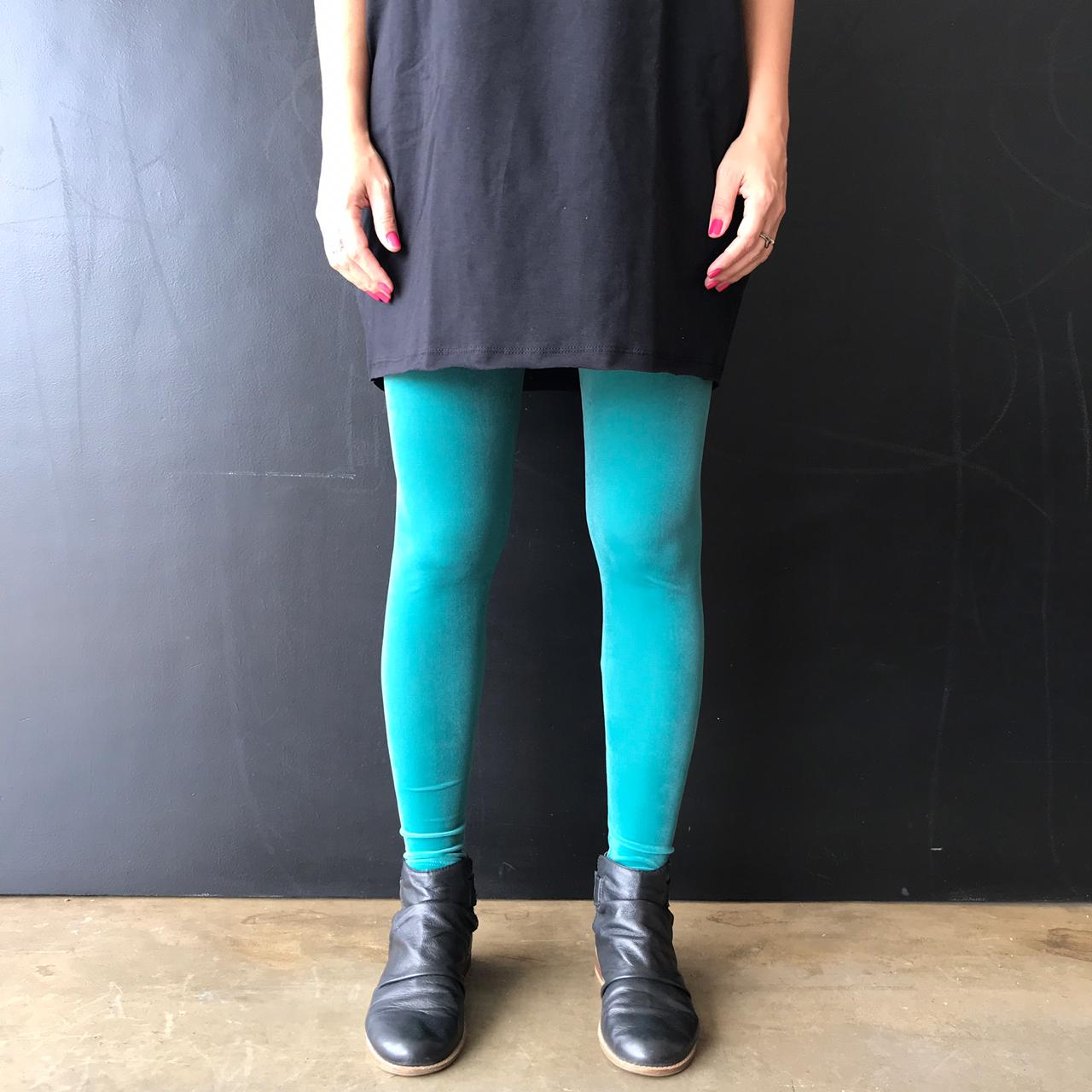 Calça Legging Adulto Cintura Alta Veludo Água