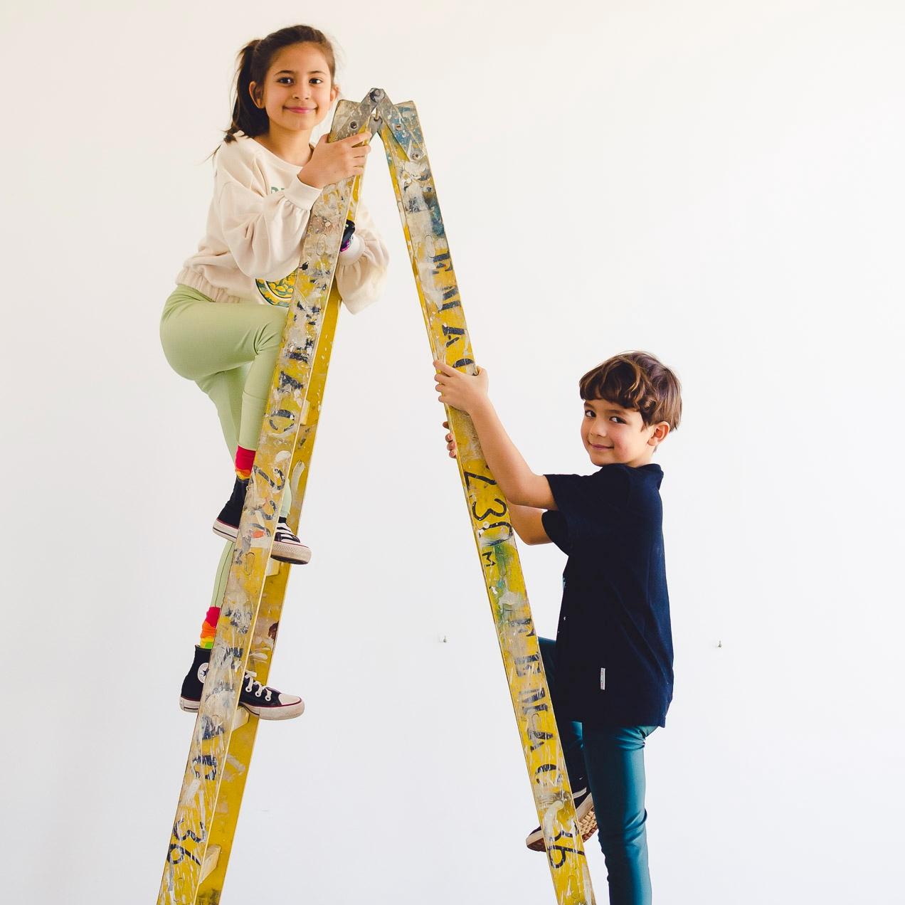 Calça Legging Infantil Brilhante Petróleo