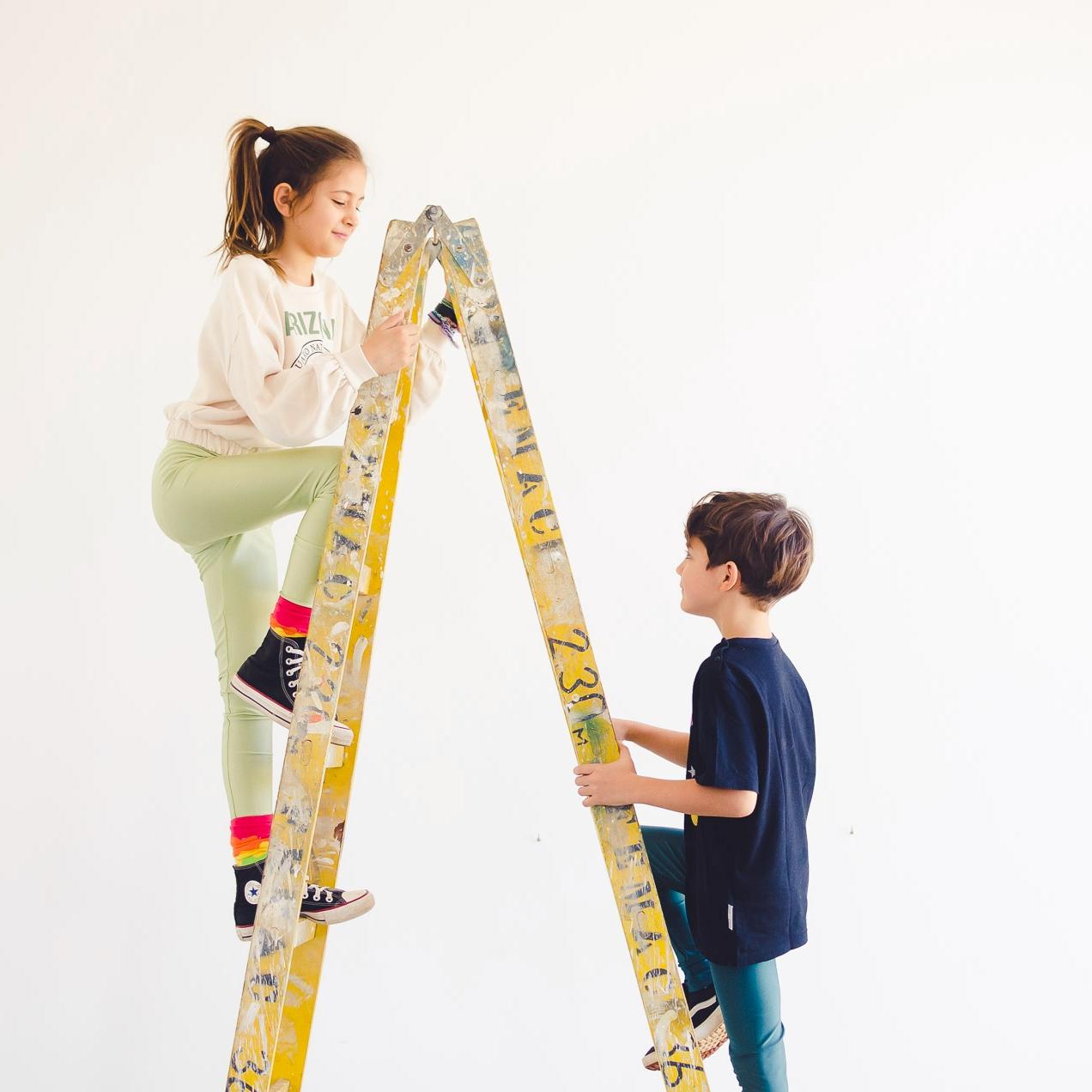 Calça Legging Infantil Brilhante Pistache