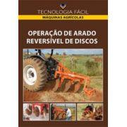 Operação de arado reversível de discos