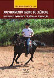Adestramento básico de equídeos utilizando exercícios de rédeas e equitação