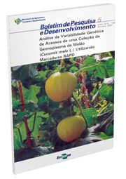 Análise da Variabilidade Genética de Acessos de uma coleção Germoplasma de Melão