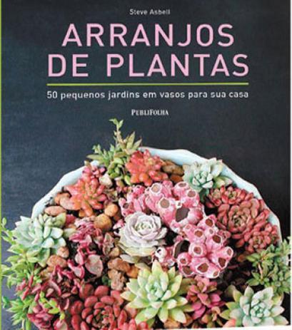 Arranjos de Plantas 50 pequenos jardins em vasos para sua casa