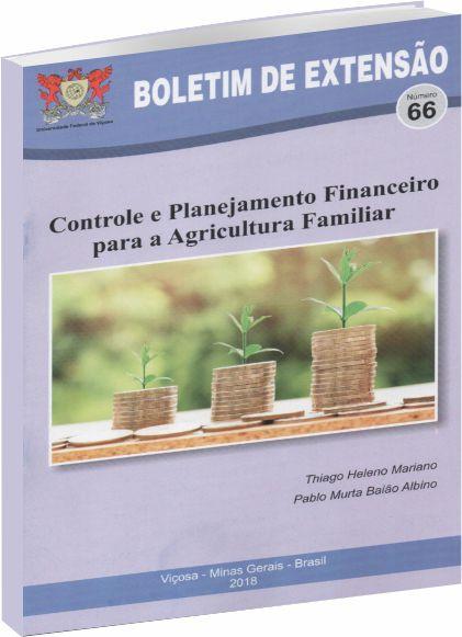 Controle e Planejamento Financeiro para a Agricultura Familiar