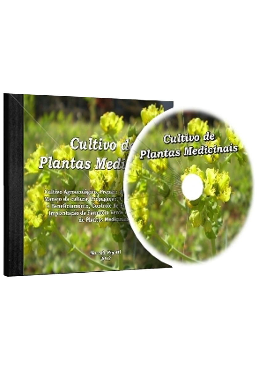 CD-ROM - Cultivo de Plantas Medicinais