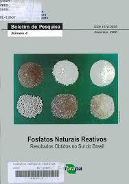 Fosfatos Naturais Reativos - Resultados Naturais Reativos