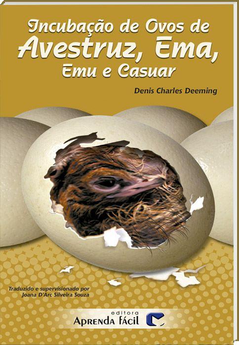 Incubação de Ovos de Avestruz, Ema, Emu e Casuar