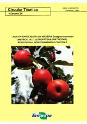 Lagarta-enroladeira da macieira Bonagota cranaodes (Meyrick, 1937) (Lepidoptera:Tortricidae): bioecologia, monitoramento e controle