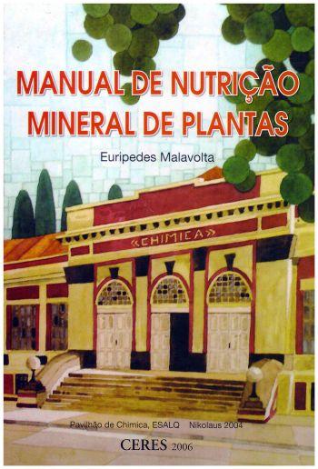 Manual de Nutrição Mineral de Plantas