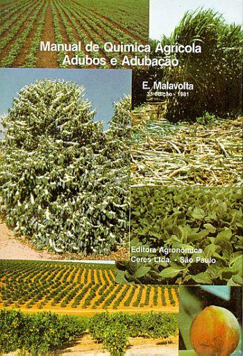 Manual de Química Agrícola Adubos e Adubação