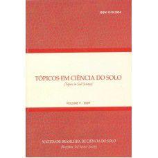 Tópicos em Ciência do Solo - Volume V