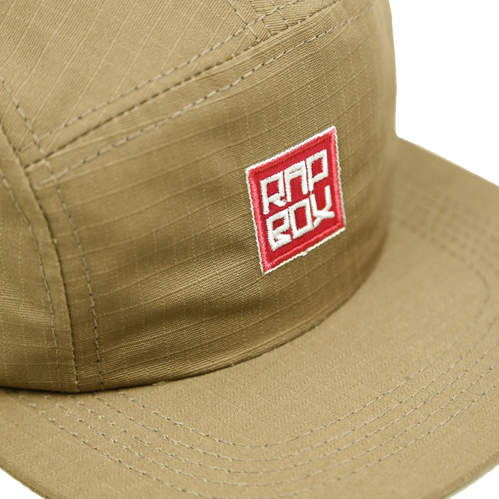 Boné Five Panel - Bege