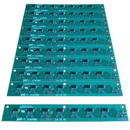 100 Placas PoE Reverso para Switch Intelbras Sf800q+ e Re118 com diodos  - ComputechLoja