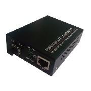 Conversor de Mídia 10/100/1000 para SFP Monomodo Single 12v