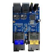 Conversor de Mídia PCBA Metro Gigabit X9 até 20 km - 2 SC / 2 GE