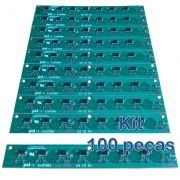 Kit 100 Placas PoE Reverso para Switch Intelbras Sf800q+ e Re118 com diodos