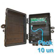 KIT 10 peças - Xwave PAC Switch 8 Portas Fast Ethernet