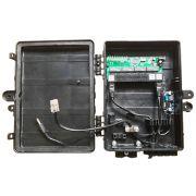 KIT 10 peças - Xwave PAC Switch 8 Portas Fast Ethernet com Conversor DC/DC