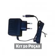 Kit 50 peças - Fonte de Alimentação 12V 500mA