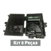 Kit 8 Pçs - Xwave Pobrenet Pac Switch 8 Fe Com Conv. Dc/dc