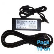 Pack 10 unidades - Fonte Suny 12V 5A P4