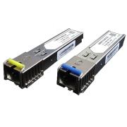 Par de Módulos SFP - Mini-GBIC - SC-PC (para conector azul) até 20 km
