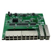 PCBA Xwave Metro Switch 16 portas + 4 portas SFP (WI-PS120GFR)