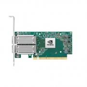 Placa De Rede Dual 100gb Mellanox Mcx516a-Ccat Connectx-5