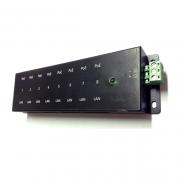 Régua PoE Passiva Xwave FAST Ethernet