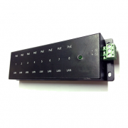 Régua PoE Passiva Xwave Gigabit Ethernet
