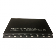 Switch para Backbone de Fibra 8FO + 2GE para PTP ou FTTH Metro
