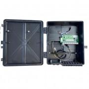 Xwave PobreNet 2.0 PAC Switch 8 Portas Fast Ethernet VLAN-BRIDGE 24v com Caixa e Conversor