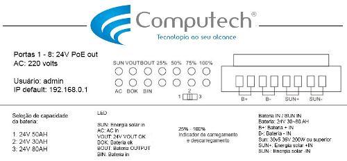 Xwave UPS Switch All in One (WI-PMS310GF-UPS)  - ComputechLoja