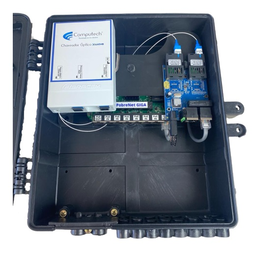 Caixa Xwave Metro Chaveada Destacável Passiva  - COMPUTECH TECNOLOGIA
