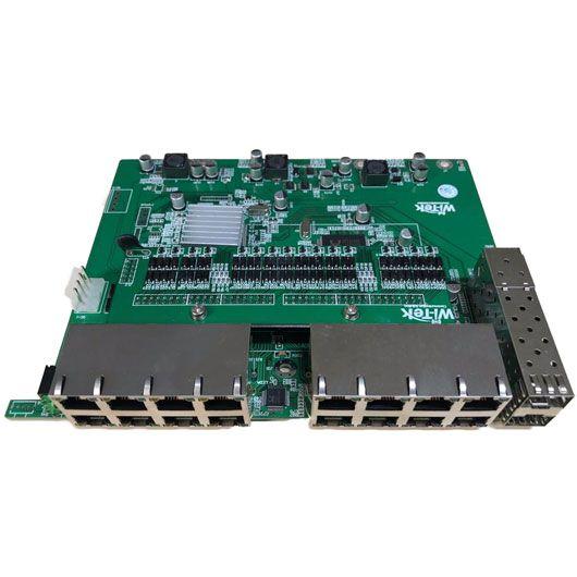 PCBA Xwave Metro Switch 16 portas + 2 SFP (WI-PS118GFR)  - ComputechLoja