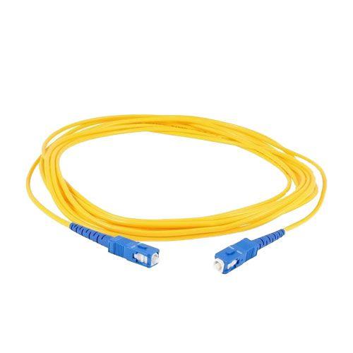 Cordão Óptico - Fibra Óptica - SC/UPC - 3 metros SM  - ComputechLoja